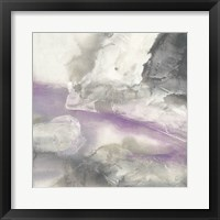 Framed Shades of Amethyst II