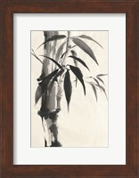 Framed Sumi Bamboo Cream