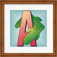 Framed is for Alligator