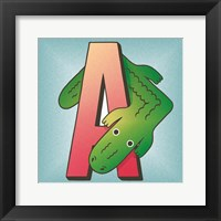 Framed is for Alligator
