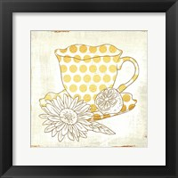 Framed Chamomile Lemon Tea