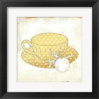 Framed Earl Grey Tea