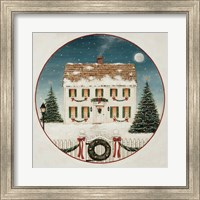 Framed Merry Lil House