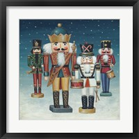 Framed King Nutcrackers Snow