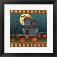 Framed Halloween Eve