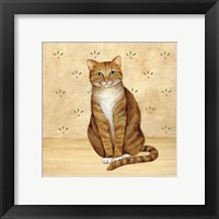 Framed Country Kitty II