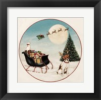 Framed Merry Lil Sleigh