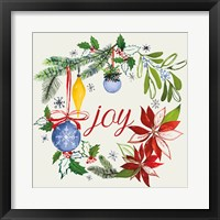 Watercolor Christmas VI Framed Print