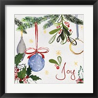 Watercolor Christmas I Framed Print