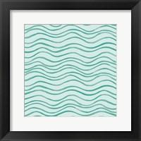 Tropical Fun Pattern I Framed Print