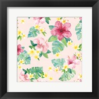 Framed Tropical Fun Pattern VII