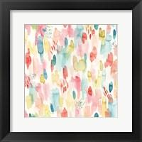 Tropical Fun Pattern II Framed Print