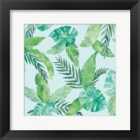 Tropical Fun Pattern VIII Framed Print