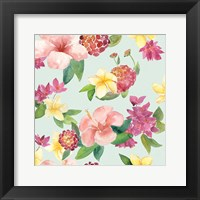 Framed Tropical Fun Pattern VI