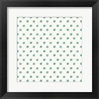 Tropical Fun Pattern III Framed Print