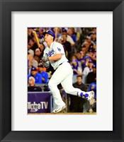 Framed Joc Pederson Home Run Game 6 of the 2017 World Series