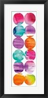 Framed Spring Dots Panel I