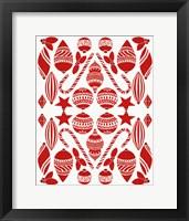 Framed Christmas Otomi III