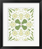 Framed Retro Pear Otomi