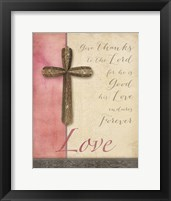 Framed Words for Worship Love
