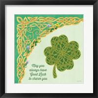 Framed Celtic Charm I