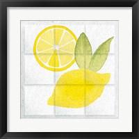 Framed Citrus Tile VI