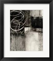 Framed Wintry Day II Crop