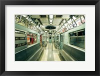 Framed NYC Subway