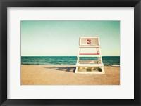 Framed Lifeguard Station