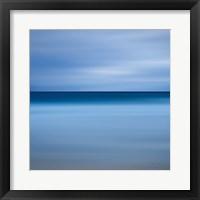 Framed Beach Blues