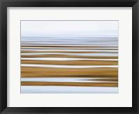 Framed Sand Flats in Fog