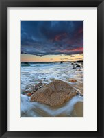 Framed Squibnocket Sunset II