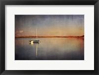 Framed Last Boat in the Bay