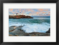 Framed Nubble Sunset