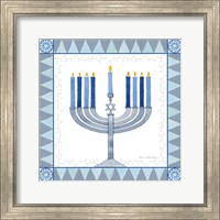 Framed Celebrating Hanukkah III