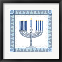 Framed Celebrating Hanukkah III