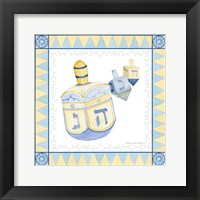 Framed Celebrating Hanukkah II