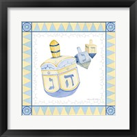 Framed Celebrating Hanukkah II