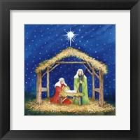 Framed Christmas in Bethlehem III