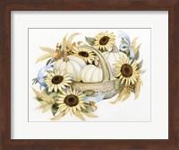 Framed Autumn Elegance IV