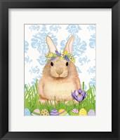 Framed Spring Bunny I
