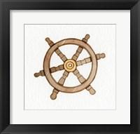 Framed Coastal Icon III