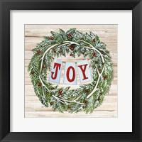 Framed Holiday Sayings I on Wood