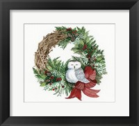 Framed Holiday Wreath II