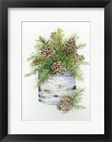 Framed Birch Vase II