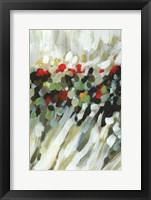Framed Poppy Swirls II