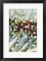 Framed Poppy Swirls III