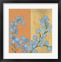 Framed Forget Me Not