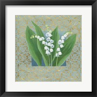 Framed Lilies of the Valley III