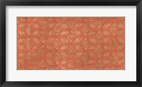 Framed Copper Pattern I